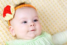 Free Sweet Baby Girl Royalty Free Stock Images - 13557539