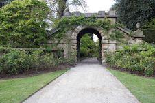 Old Gates Royalty Free Stock Image