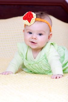 Free Sweet Baby Girl Royalty Free Stock Photo - 13557595