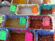 Free Spice Market, Nice, France Stock Image - 13557671
