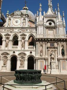 Venice - Doges Palace Stock Photo