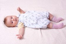 Free Sweet Baby Girl Royalty Free Stock Image - 13558246