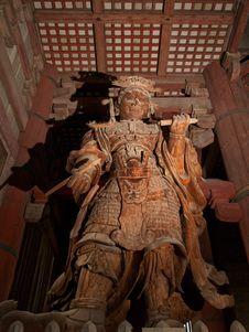 Free Todai Ji Temple In Nara Stock Photography - 13558402
