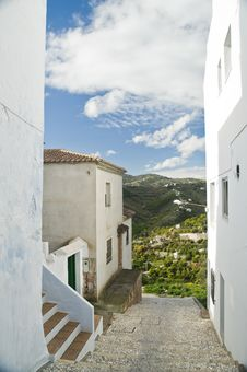 Free Andalucian Village View Royalty Free Stock Image - 13558716