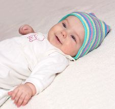 Free Sweet Baby Girl Stock Photography - 13559452