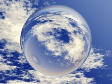 Free Sphere At The Sky Stock Images - 13559484