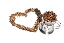 Free Coffee Beans Royalty Free Stock Image - 13559506