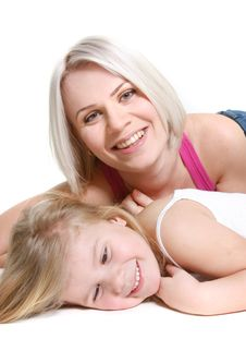 Free Happy Mother And Daughter Stock Images - 13559544