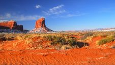 Free Monument Valley Rock Formations Royalty Free Stock Images - 13559569
