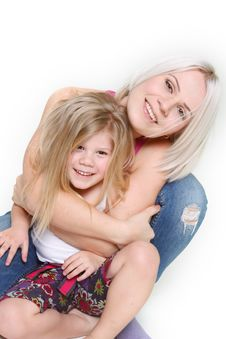 Free Happy Mother And Daughter Stock Photos - 13559623
