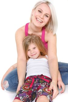 Free Happy Mother And Daughter Stock Photography - 13559692