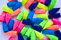 Free Multi-colored Pencil Erasers On White Royalty Free Stock Photo - 13561555
