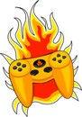 Free Geek Game Controller Royalty Free Stock Photos - 13565098