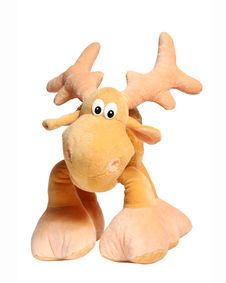 Free Toy Deer Isolated Royalty Free Stock Photos - 13560618