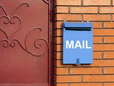 Free Mailbox Royalty Free Stock Photos - 13560648