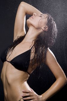 Free Woman With Water Stock Photo - 13560800