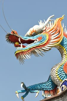 Free A Chinese Dragon Stock Images - 13562104