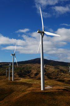 Free Wind Turbines Stock Photos - 13563203