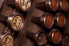 Free Pound Buttons Stock Photos - 13563573