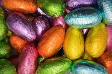 Free Shiny Easter Eggs Royalty Free Stock Images - 13563749