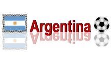 Soccer Argentina Stock Images