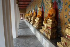 Free Figure Of Buddha In Grand Palace Of Thailand Stock Image - 13566751