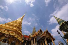 Free Grand Palace Of Thailand Royalty Free Stock Photography - 13566877