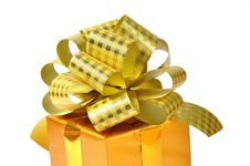 Free Golden Gift Stock Photos - 13567003