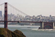 Free San Francisco Golden Gate Bridge Royalty Free Stock Images - 13567859