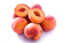 Free Juicy Peaches Stock Photo - 13568280