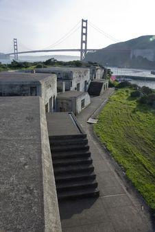 Free View To The Golden Gate Bridge Royalty Free Stock Photos - 13568428