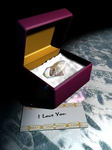 Diamond Love Stock Photography
