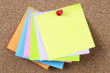 Free Sticker Notes Stock Photo - 13569150