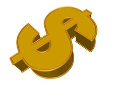 Free Dollar Sign Stock Photo - 13569260