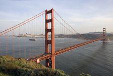 Free San Francisco Golden Gate Bridge Stock Images - 13569524