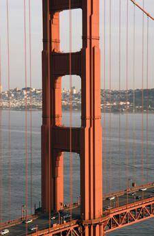 Free San Francisco Golden Gate Bridge Royalty Free Stock Image - 13569526