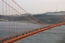 Free View Through The Golden Gate Bridge Royalty Free Stock Images - 13569639