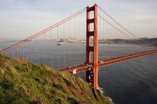 Free San Francisco Golden Gate Bridge Royalty Free Stock Image - 13569666