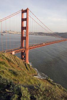 Free San Francisco Golden Gate Bridge Royalty Free Stock Photography - 13569717