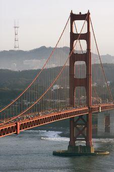 Free San Francisco Golden Gate Bridge Royalty Free Stock Photo - 13569875
