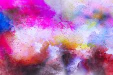 Free Pink, Purple, Watercolor Paint, Sky Royalty Free Stock Image - 135689326