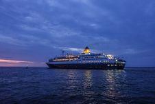 Free Cruise Ship, Passenger Ship, Water Transportation, Ship Stock Images - 135689504