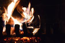 Free Wine Glass, Stemware, Flame, Red Wine Stock Photo - 135689650