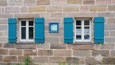 Free Blue, Wall, Window, Facade Royalty Free Stock Photos - 135689918