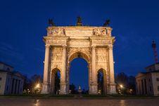 Free Arch, Sky, Landmark, Triumphal Arch Royalty Free Stock Photos - 135689978