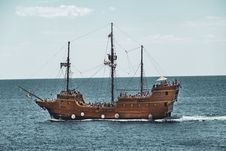 Free Ship, Caravel, Sailing Ship, Carrack Royalty Free Stock Photography - 135690067