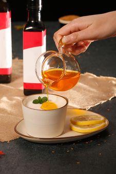 Free Drink, Liqueur, Food, Condiment Stock Image - 135690121