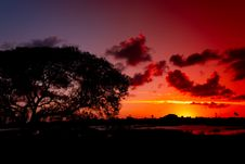 Free Sky, Red Sky At Morning, Nature, Afterglow Stock Photography - 135690232