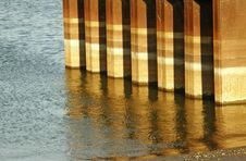 Free Wood, Reflection, Wood Stain, Floor Stock Images - 135690314