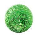 Free Disco Sphere Green Royalty Free Stock Photo - 13572105